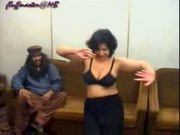 Sexy topless mujra