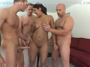 Gangbang introduction with beautiful starlet