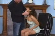 Melanie gives her hot boyfriend bill a great handjob