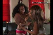 Porn star apple bottom brawling chic fight