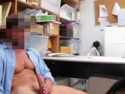 Teen Thief Alex Harper Gets Pounded Roughly In Office