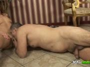 Partially paralysed stud has nubile slut to ride his cock