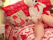 Christmas double stuffed toys