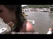 Hot Sorority Girls Partying on Boats Part 1