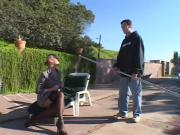 Aroused Blonde Whore Is Extremely Fucked By One Huge Shaft Outdoors