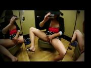 My incredible squirting in changing room