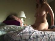 Horny chick has forbidden sex with cousin