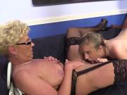 Teen Taylor And Milf Sofie Take Black Schlong