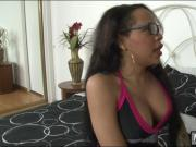 Ghetto tranny Nody Nadia with big tits gets her ass slammed