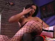 Sexy mistress needs to punish her naughty whore...