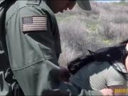 Nasty latina babe Kimberly Gates pounded by patrol agent