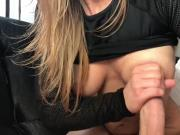 Stunning Girl Giving A Great Handjob