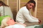 Sleeping Blonde Girl Taken Advantaged Inside Bedroom