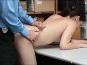 Teen thief Bobbi Dylan convinced to fuck LP officer