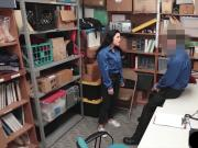 Monica Sage gets rough fucked by a shopping mall cop