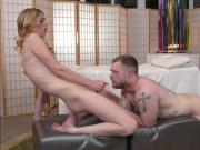 Ts Mandy Mitchell sucked off by and is anal banging a dude