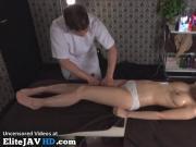 Japanese massage turns in hard fucking - More at Elitejavhd.com