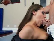Pretty Brunette Chick Likes Oral And Fucking