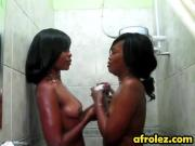 Ebony Lesbos Maxi And Sajeda Taking Hot Shower