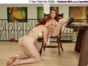 Milf watch her wife squirt and gets to lick her