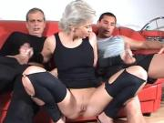 Mature Euro Nympho Cums Over Plenty Of Hard Poles