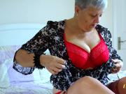 EuropeMaturE Older Lady Seductive Solo Striptease