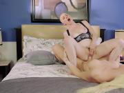 Big boobs tranny Aubrey Kate fucks skinhead Riley Nixon