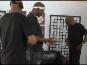 Slutty babe Ariel Stonem gets slammed by big black cocks