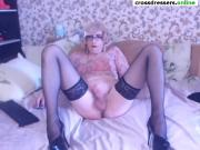 amateur shemale cdgirl stockings heels big cock