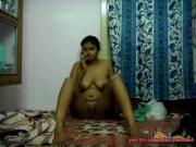 Indian girl strips