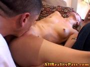 Munching Elli#039;s rug while boyfriend watches