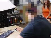 Sexy tight babe nailed by nasty pawn guy at the pawnshop