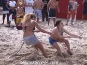 Wild Hotties Jiggle And Has Fun In A Spring Break Gathering