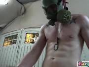 Stunning gay soldiers banging in locker room