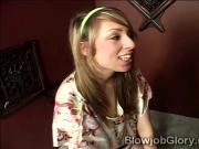 Sexy redhead teen Allyssa begs for salvation at church