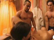Sexy women enjoying their stay inside Playboy mansion