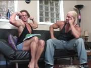 Ravishing Body-Builder Slut Loves Fellatio Sex