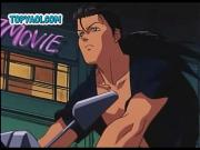Sexy anime gay biker boys seducing eachothers cocks