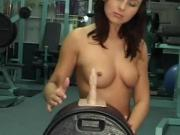 Sexy Babe Christina Orgasms On Sybian