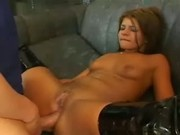 anal sex for hot brunette