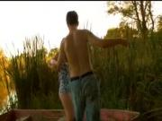Teen Couple Make Love By The River!