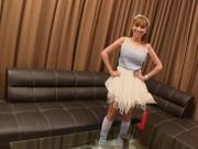 Post-Op Thai Ladyboy Emi Dildoing