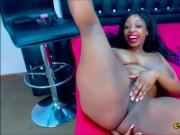 Beautiful Black Woman Goes Super Kinky