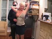 busty french girl gangbanged