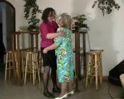 Granny Lezzies Cum Over Full Pussies