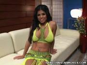 Busty Latina Porn Star Fucked