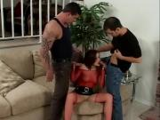 FoxyBabe Does Two Hard Dicks