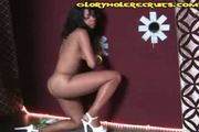 Black Girl Fucks Glory Hole