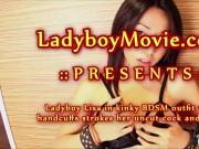 Thai Ladyboy Lisa Wanking