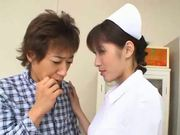 Beautiful Asian nurse knows the treatment well